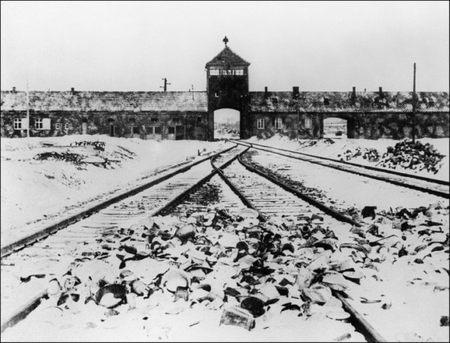 The main aim of Poland's controversial new Holocaust law is to prevent people from erroneously describing Nazi German death camps in Poland, such as Auschwitz-Birkenau, as Polish