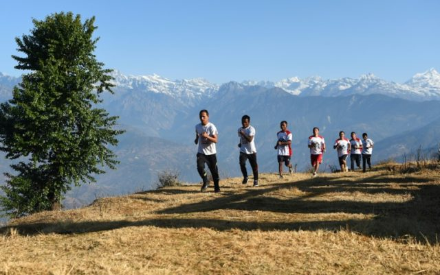 These Nepali Buddhist monks are aspiring ultra-marathon runners, hoping the sport will put their remote village on the map and provide the funds needed to rebuild homes destroyed by a massive earthquake nearly three years ago