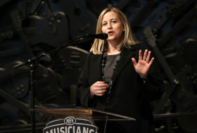 Nashville Mayor Megan Barry, seen here in March 2016, had been fighting for her political life after admitting to an extramarital affair with the chief of her security detail