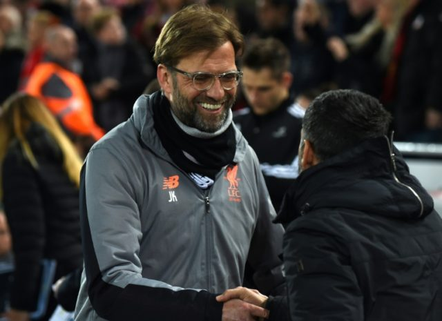Jurgen Klopp's attentions will now turn to the weekend's Premier League clash with arch rivals Manchester United