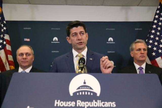 US House Speaker Paul Ryan has split publicly with President Donald Trump on the latter's plan to slap tariffs on steel imports