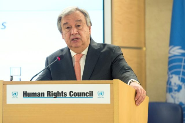 United Nations Secretary-General Antonio Guterres is urging all sides to seize the opportunities of a planned summit between North and South Korea, as well as future talks on ending Pyongyang's nuclear weapons drive