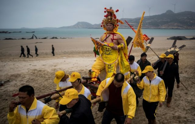 """The Dash of the Ocean Gods"" festival is held in Fujian province in the weeks following the Lunar New Year"