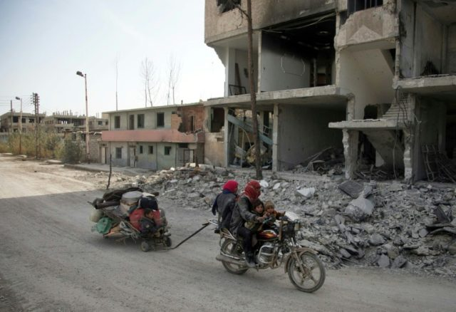 Russia says rebels allowed to leave Syria's E.Ghouta: agencies