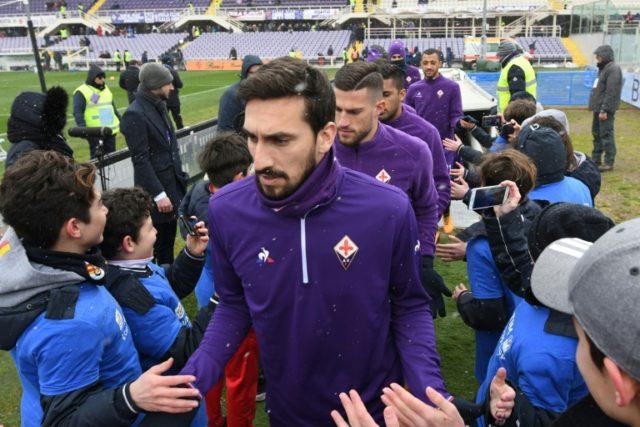 Fiorentina's Astori died of cardiac arrest, autopsy finds: reports
