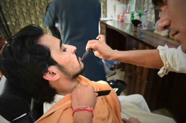 Barbers bristle at 'fashionable' beards in Pakistan province