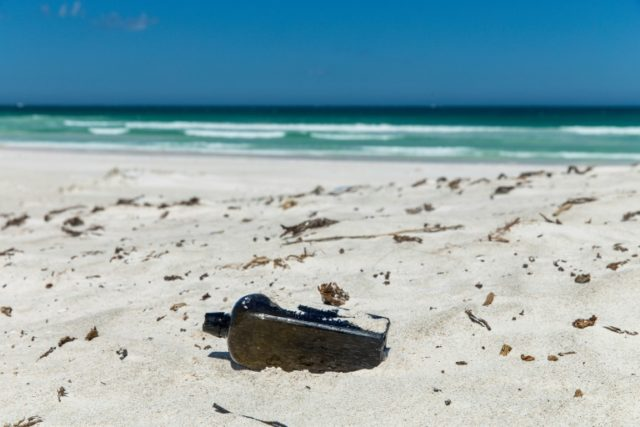 Oldest message in a bottle found at remote Australian beach