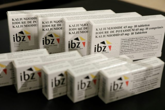 The Belgian government is distributing Iodine tablets as part of the cvountry's new nuclear emergency plan