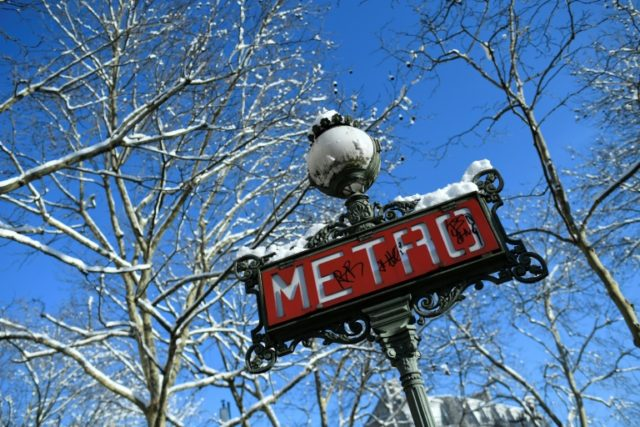 """The Paris metro operator RATP says the one-way systems are clearly marked and are aimed at avoiding """"incidents"""" and controlling the flow of people"""