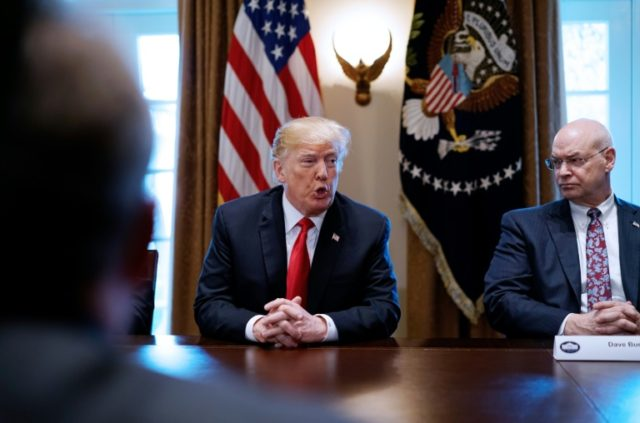 US President Donald Trump's moves on steel and aluminum tariffs watched have exposed divisions in his economic team