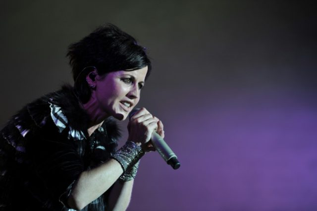 Singer Dolores O'Riordan of Irish band The Cranberries, shown performing during a festival in Cognac, France, in 2016, had already recorded vocals for a new album before her death in January 2018