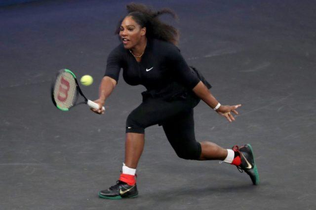 Serena Williams is competing at the elite Indian Wells hardcourt tournament this week, her first tour action since her 2017 Australian Open triumph