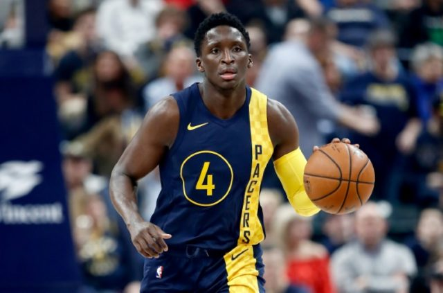 The Pacers nearly blew a 17 point lead but held on to beat Washington 98-95 helped by 33 points from Victor Oladipo
