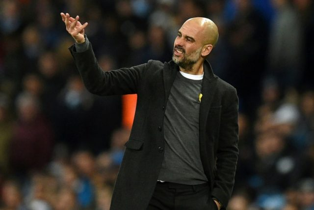 Win some, lose some: Manchester City coach Pep Guardiola on Wednesday