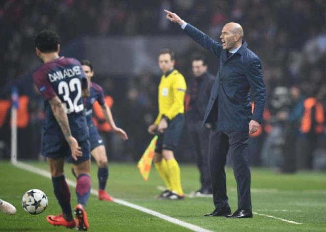 Zinedine Zidane relieved the pressure by guiding Madrid to victory over PSG but Real's only hope of silverware this season is to retain the Champions League