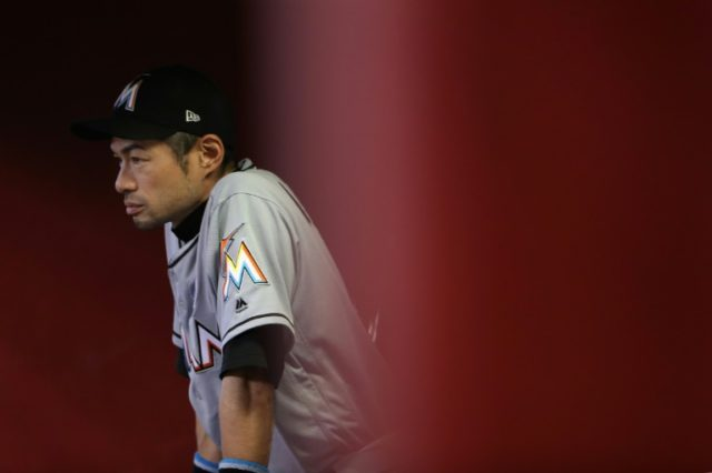 The 44-year-old Ichiro has rejoined the Seattle Mariners after a spell with the Miami Marlins