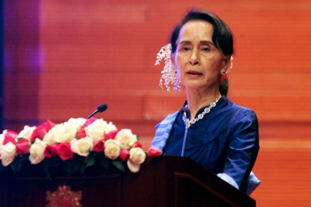 US Holocaust Museum strips rights award from Myanmar's Suu Kyi