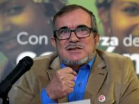 "Former FARC rebel leader Rodrigo Londono, known as ""Timochenko,"" was the presidential candidate for the Common Alternative Revolutionary Force (FARC) party -- the group's new political movement"