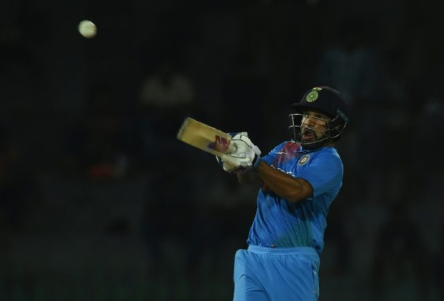 Dhawan powers India to six-wicket T20 win over Bangladesh