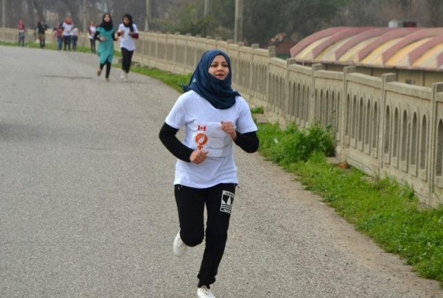Iraqi women 'reclaim their rights' with Mosul marathon
