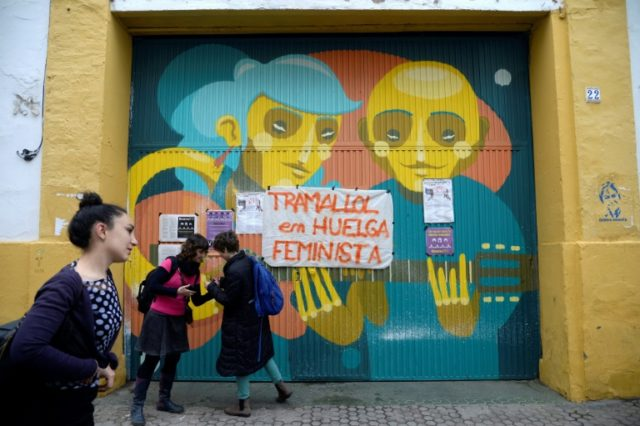 Spanish women stage unprecedented strike for rights