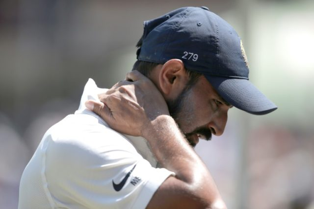 Infidelity claim puts India bowler Shami's contract on hold