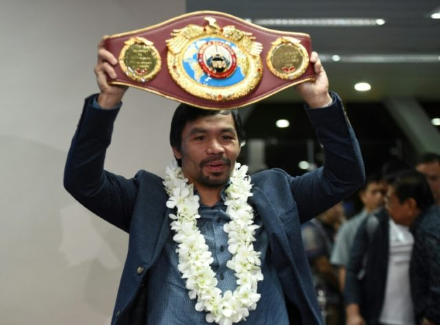 'Underdog' Pacquiao announces Mattysse fight in June