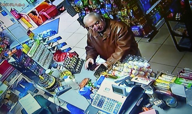 Sergei Skripal bought groceries at a convenience store in Salisbury before collapsing
