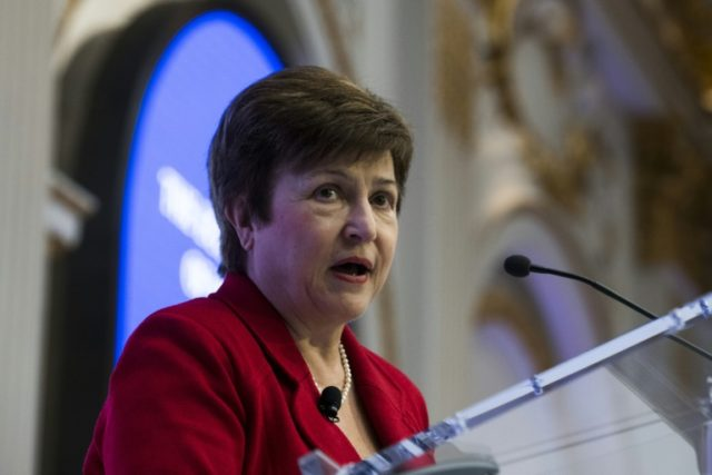 "World Bank CEO Kristalina Georgieva said Donald Trump should assess the ""implications"" before imposing steel and aluminium tariffs"