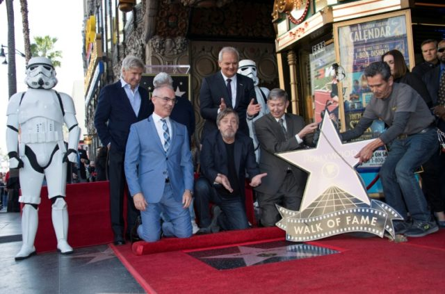 Mark Hamill bags Hollywood star, with no wars required