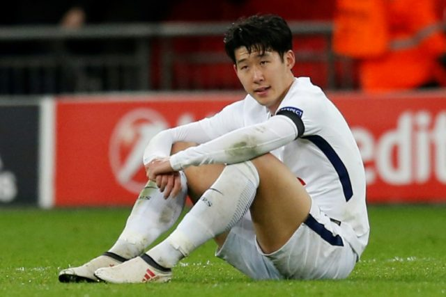 Son says Spurs must learn from Champions League pain