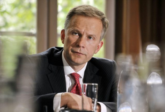 Latvian parliament urges embattled central bank boss to resign
