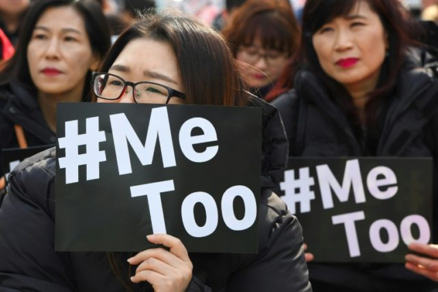 Activists held protests in Seoul to mark International Women's Day, as the country's nascent #MeToo campaign spreads
