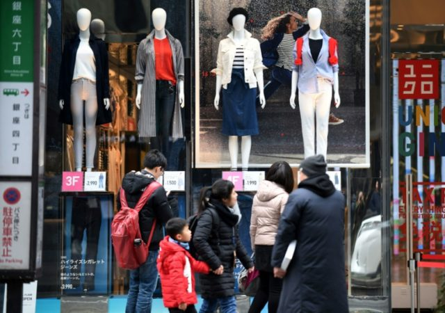 Japanese consumer spending was buoyant in January, new data showed