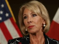 US Education Secretary Betsy DeVos said she will chair a federal commission on school safety
