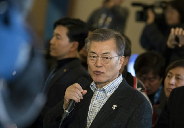 South Korea's President Moon Jae-in Moon routinely summons his National Security Council immediately after the North's missile tests