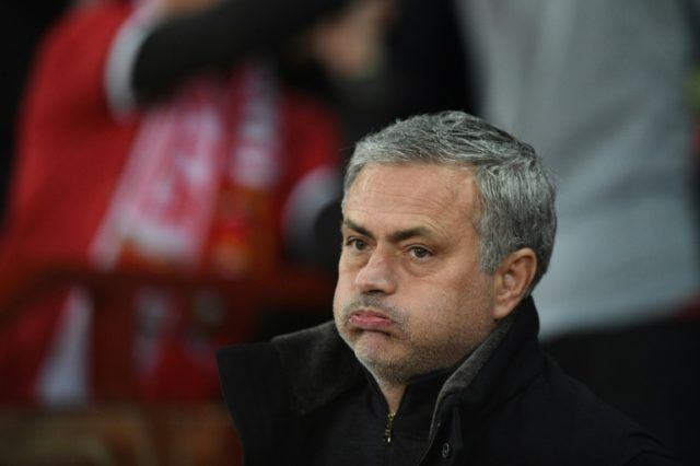 Manchester United manager Jose Mourinho is under fire after his team were knocked out of the Champions League