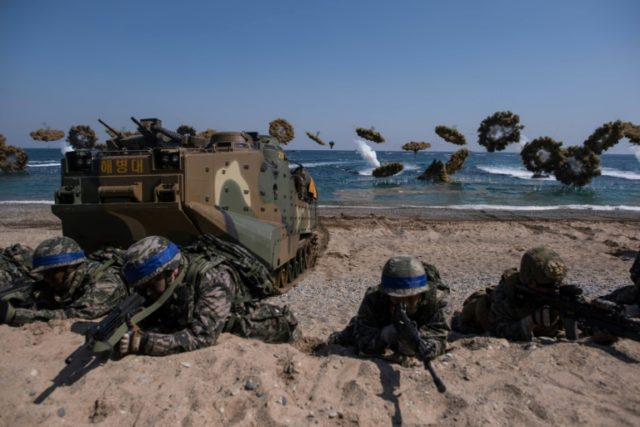 S. Korea, US to scale down military drills: report