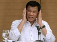 Philippine President Rodrigo Duterte Duterte has announced Manila would quit the ICC over its preliminary inquiry launched last month into allegations his crackdown on narcotics amounts to crimes against humanity