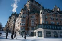 Quebec City's old quarter is a UNESCO World Heritage site