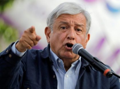 Fiery leftist Andres Manuel Lopez Obrador is leading the pack to succeed Mexico's unpopular President Enrique Pena Nieto