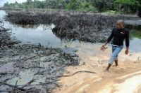 The Nigerian region of Ogoniland has experienced a spike in oil spills in recent years