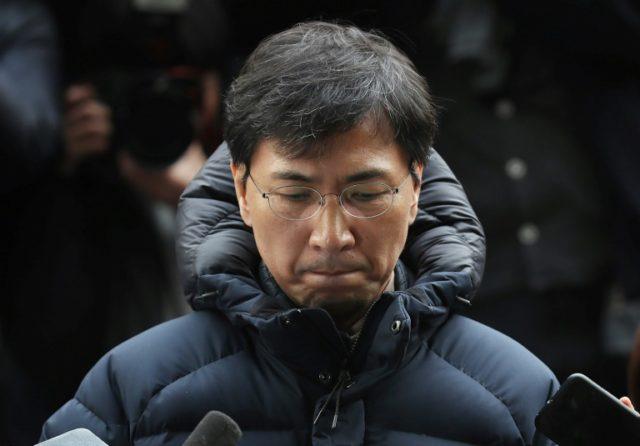 Former S. Korea presidential hopeful denies rape