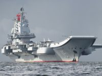 The Liaoning has made another passage through the Taiwan Strait