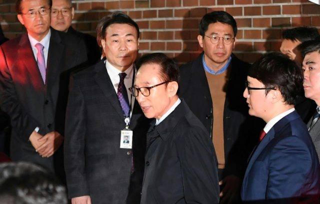 Ex-South Korean President Lee arrested over corruption