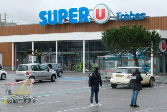 Beltrame took the place of a woman who the gunman was holding as a final hostage in the Super U store in the quiet southwest town of Trebes on Friday.