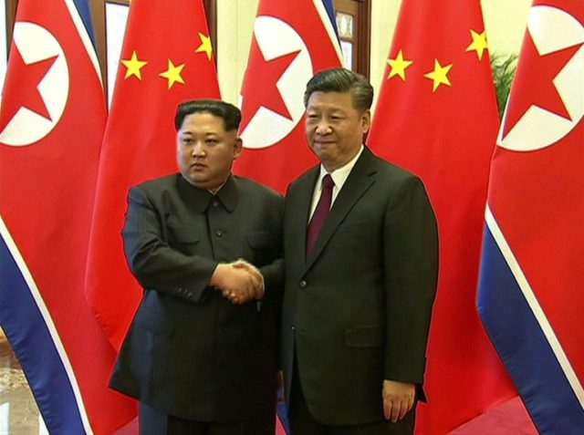 Kim and Xi had not met since the young North Korean leader took power in 2012
