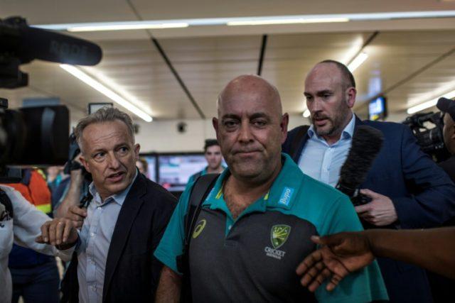 'Culture change': Australia coach Darren Lehmann arrives in Johannesburg