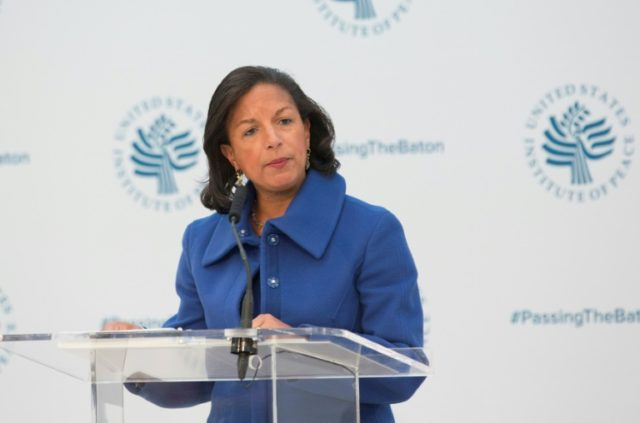 Susan Rice directed the National Security Council from 2013 to 2017, providing the daily briefing to then-president Barack Obama, and was responsible for foreign and national security policy, intelligence and military efforts