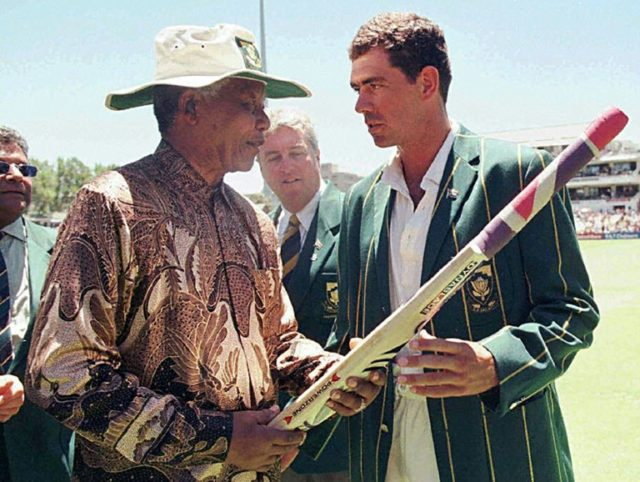 The then South African Cricket captain Hansie Cronje orchestrated a match-fixing ring